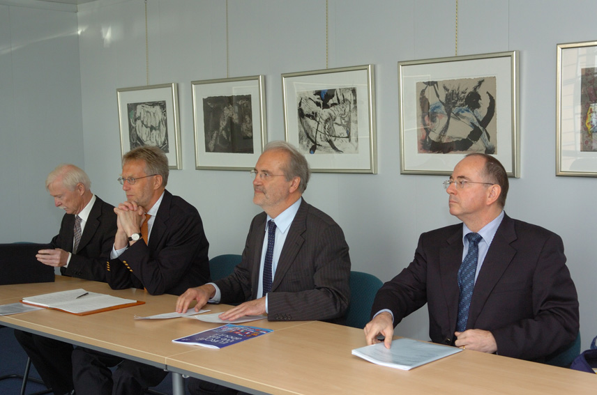 Visit of representatives of the EBU to the EC