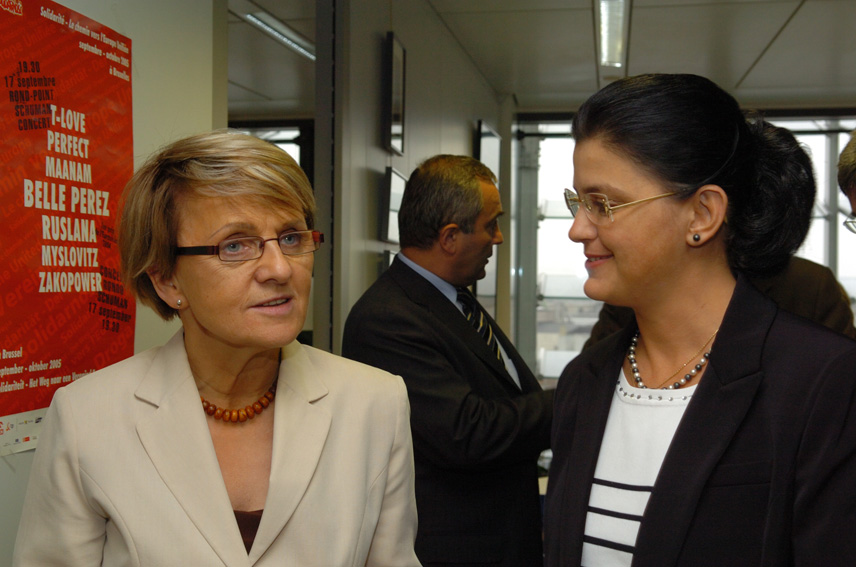 Visit of Anca-Daniela Boagiu, Romanian Minister of European Integration, to the EC