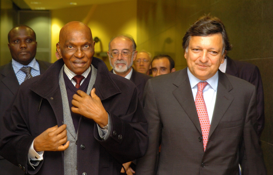 Visit of Abdoulaye Wade, President of Senegal, to the EC