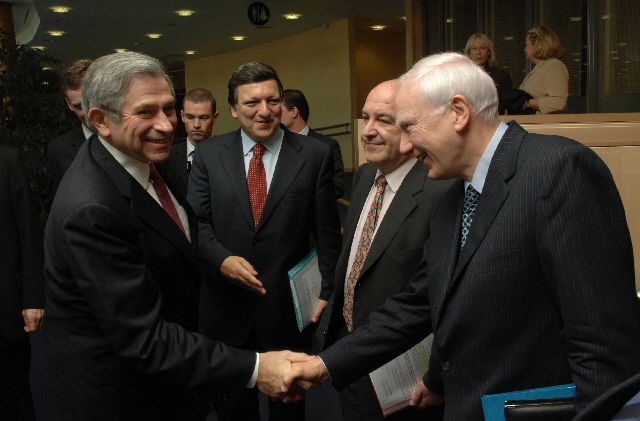 Visit by Paul Wolfowitz, President of the World Bank, and Philippe Maystadt, President of the European Investment Bank (EIB), to the EC