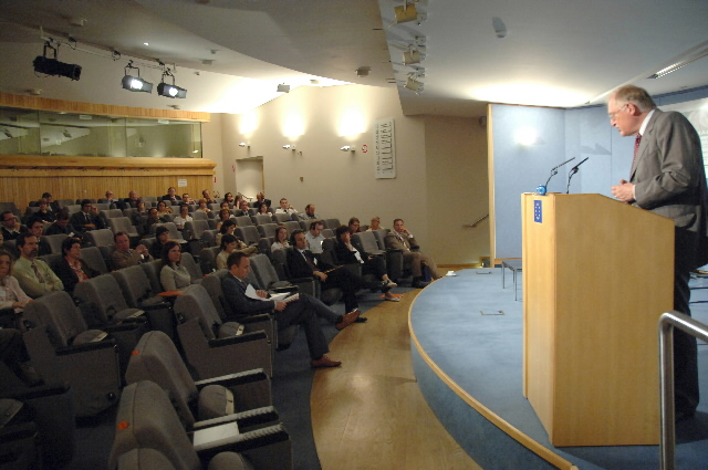 Participation of Günter Verheugen, Vice-President of the EC, at the European SME day