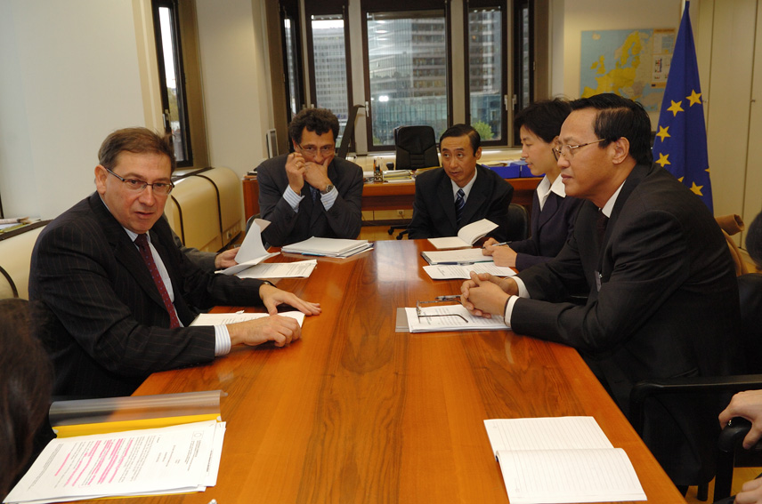 Visit by Zhang Baowen, Chinese Vice-Minister for Agriculture, to the EC