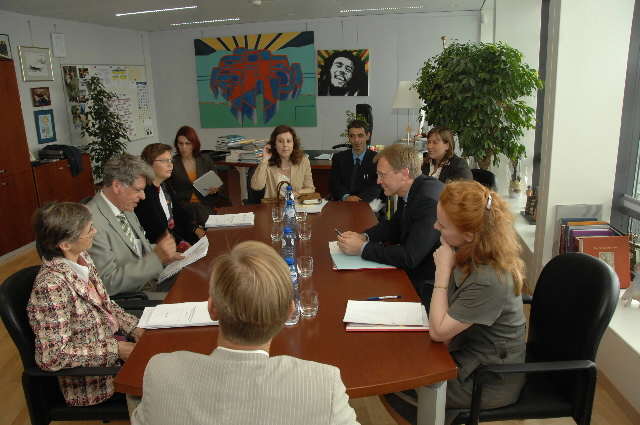 Meeting of the European Group on Ethics in Science and New Technologies (EGE) with Janez Potocnik, Member of the EC