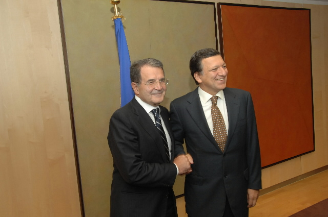 Visit by Romano Prodi, Italian Prime Minister, to the EC