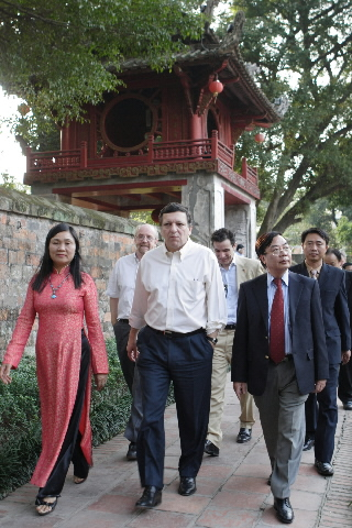 Visit by José Manuel Barroso, President of the EC, to Vietnam