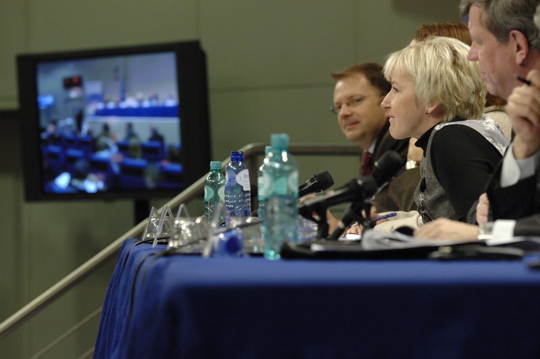 Participation of Margot Wallström, Vice-President of the EC, in the Plan D closing plenary session