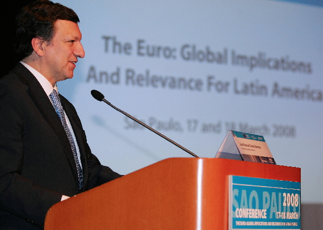 Visit by José Manuel Barroso, President of the EC, to Brazil