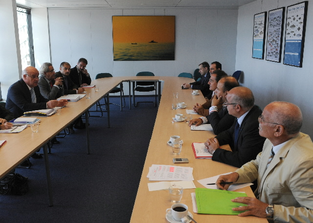 Visit of a delegation of Thuna fishermen of the Mediterranian to the EC