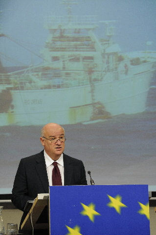 Press conference by Joe Borg, Member of the EC, on fisheries control
