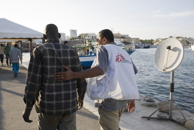 L'immigration: Lampedusa