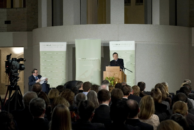 Speech by José Manuel Barroso, President of the EC, to the BELA Foundation