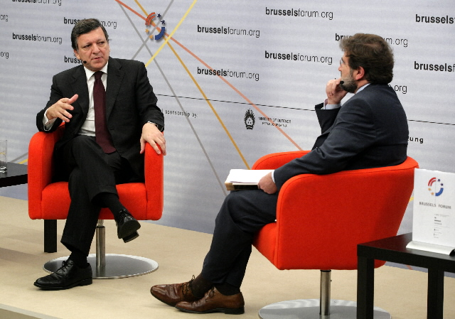 Participation of José Manuel Barroso, President of the EC, at the Brussels Forum 2009
