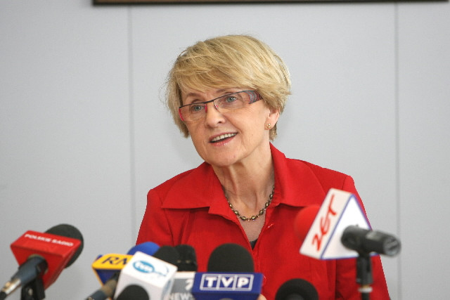 Announcement of the resignation of Danuta Hübner, Member of the EC in charge of Regional Policy