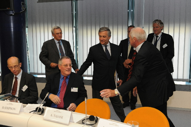 Press conference by Antonio Tajani, Vice-President of the EC, on the rail safety rules