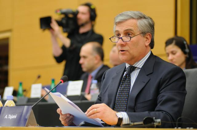 Hearing of Antonio Tajani, Vice-President designate of the EC, at the EP