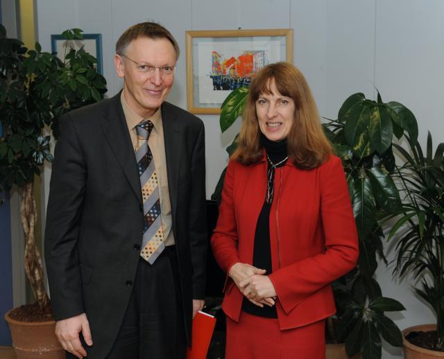 Visite de Jacqueline McGlade, directrice générale de l'AEE, à la CE