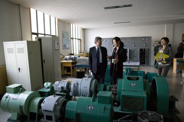 Visit of Günther Oettinger, Member of the EC, to China