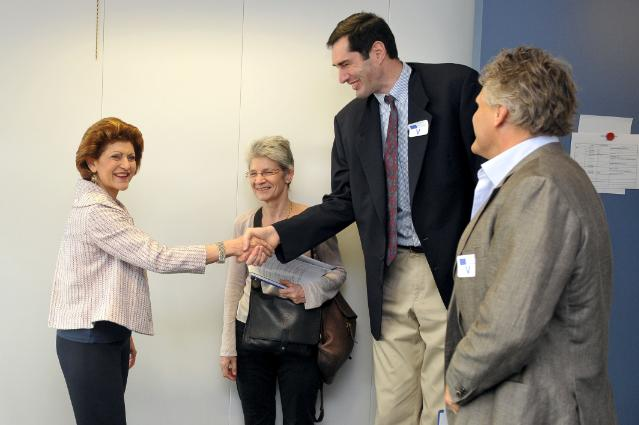 Visit of Walter Palmer, General Secretary of the European Elite Athletes Association, to the EC