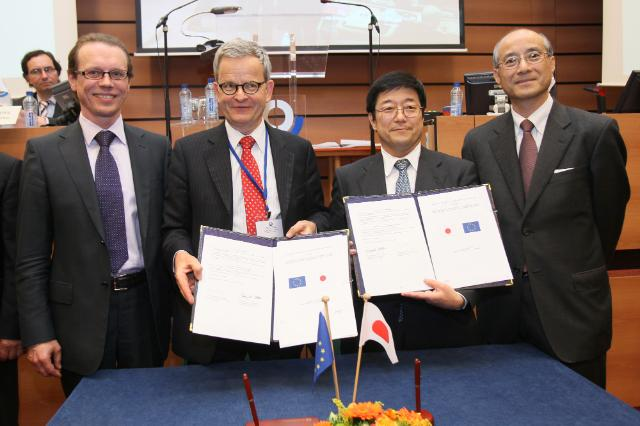 Signing ceremony of the EU-Japan mutual recognition decision