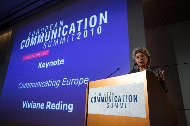 European Communication Summit (ECS), 01/07/2010