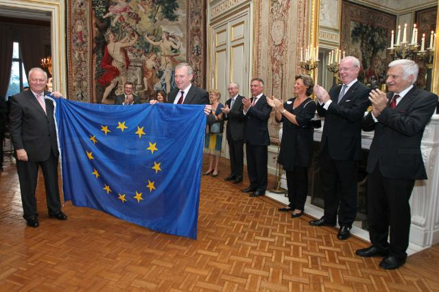 Handover Ceremony of the Presidency of the Council of the EU between Spain and Belgium