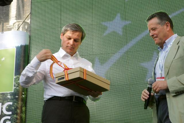 Participation of Dacian Cioloş, Member of the EC, at the Flavour for Life Fair