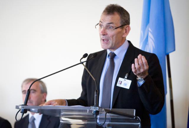 Visit of Andris Piebalgs, Member of the EC, to New York
