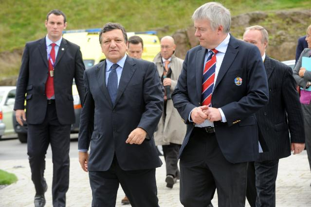 Visit of José Manuel Barroso, President of the EC, to Wales