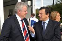 Visit of José Manuel Barroso, President of the EC, to Wales