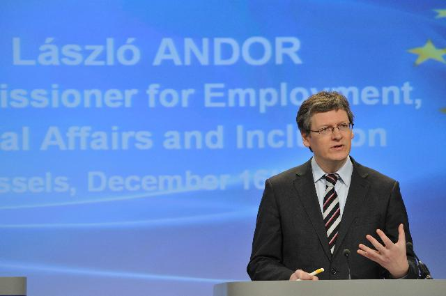 Press conference by László Andor, Member of the EC, on the