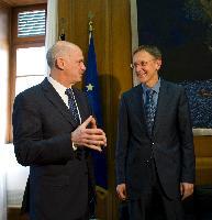 Visit of Janez Potočnik, Member of the EC, to Greece