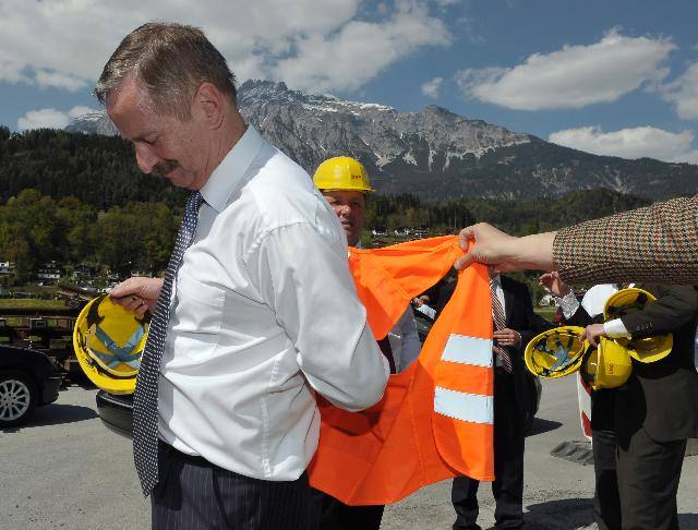 Participation of Siim Kallas, Vice-President of the EC, at the launch the works on the Brenner Base Tunnel