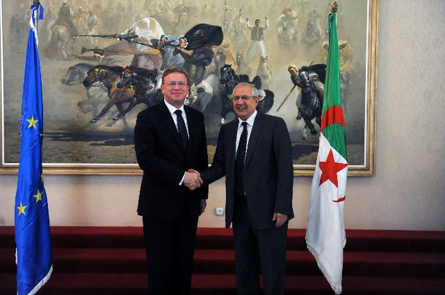Visit of Štefan Füle, Member of the EC, to Algeria
