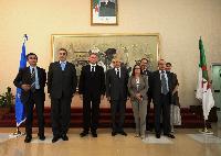 Visite de Štefan Füle, membre de la CE, en Algérie