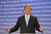 Conférence de presse de Štefan Füle, membre de la CE, sur les négociations d'adhésion de la Croatie à l'UE