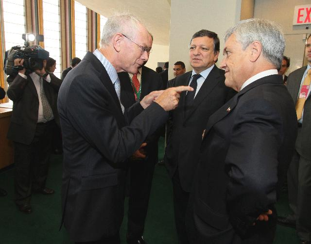 Visit of José Manuel Barroso, President of the EC, to New York