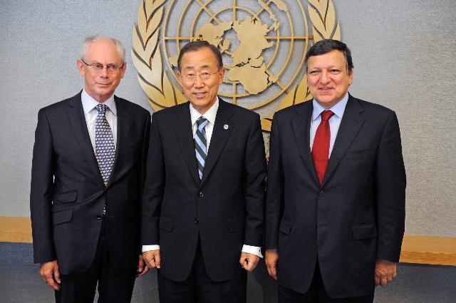 Visit of José Manuel Barroso, President of the EC, to New York
