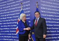 Visit of Jóhanna Sigurðardóttir, Icelandic Prime Minister, to the EC