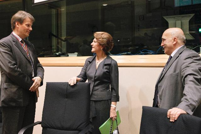 Participation of Androulla Vassiliou, Member of the EC, at the session of the Committee on Education and culture of the EP