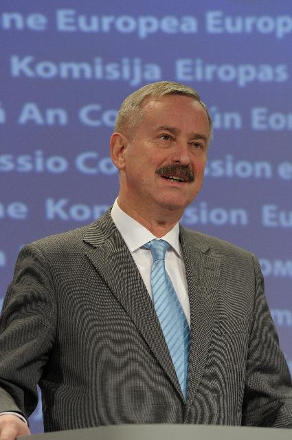 Press conference by Siim Kallas, Vice-President of the EC, on European airports' snow winter preparedness