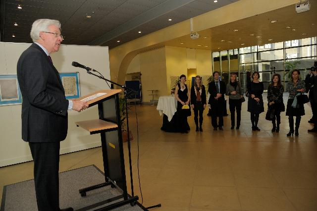 Opening of the exhibition Holocaust-Keeping Memory Alive