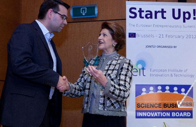 Participation of Androulla Vassiliou, Member of the EC, at the EIT Entrepreneurship Awards ceremony