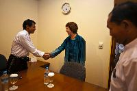 Visit of Catherine Ashton, Vice-President of the EC, to Burma/Myanmar