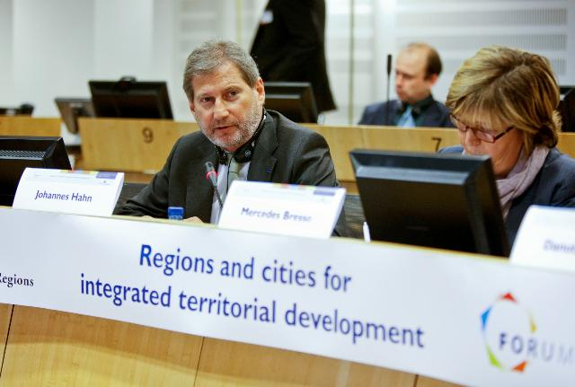 Participation of Johannes Hahn, Member of the EC, at the Forum on the Common Strategic Framework 2014-2020 organised by the CoR