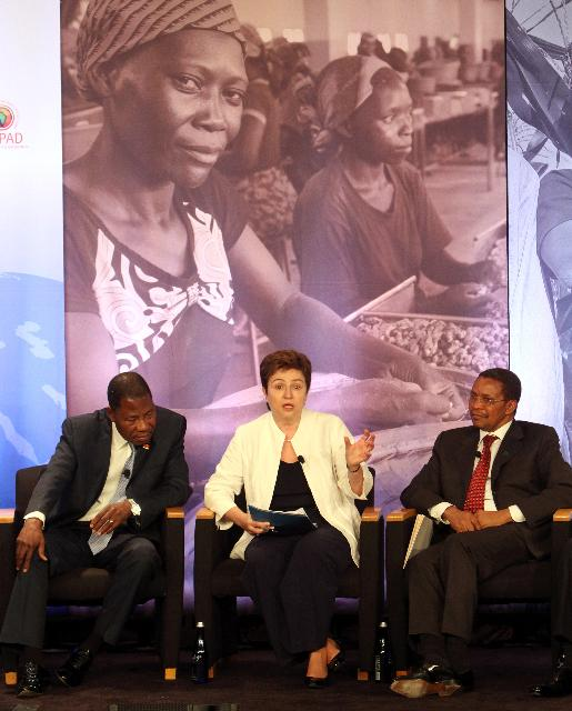 Participation of Kristalina Georgieva, Member of the EC, at the launch of the New Alliance for Food Security and Nutrition, in the margins of the G8
