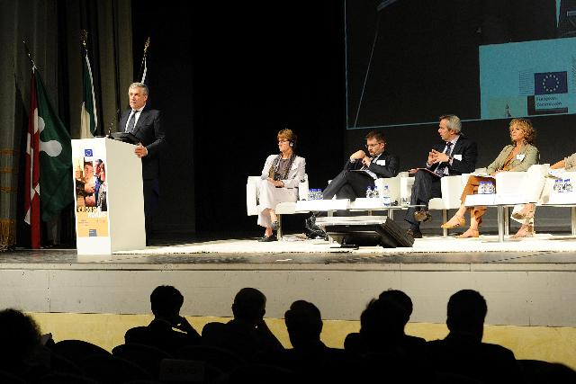 Participation of Antonio Tajani, Vice-President of the EC, at the