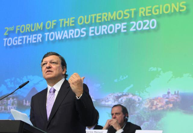 Participation of José Manuel Barroso, President of the EC, and Johannes Hahn, Member of the EC, in the 2nd Forum on the Outermost Regions