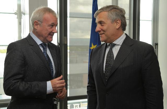 Visite de Ramón Luis Valcárcel Siso, président du Comité des régions, à la CE