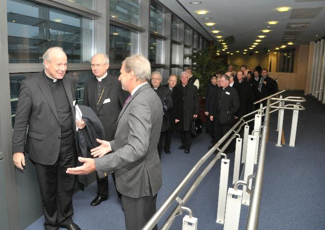 Visit of a group of Austrian bishops to the EC