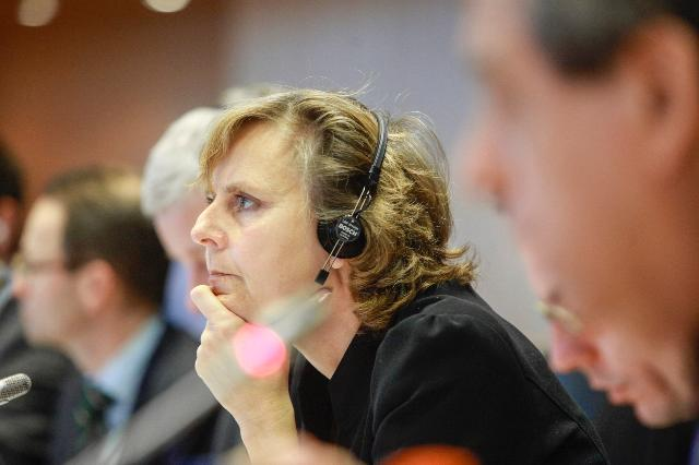 Participation of Connie Hedegaard, Member of the EC, at the Environment Committee of the EP, on the future of EU emissions trading